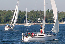 Sailboat Home Page Slip